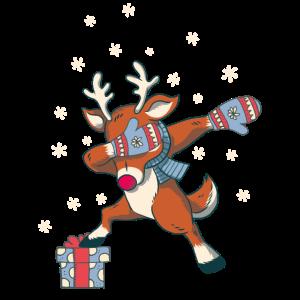 Reentier Dabbing Weihnachten