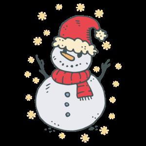 Schneemann Weihnachtsmütze Weihnachten
