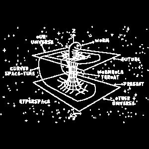 Astrophysiker Zeitkrümmung