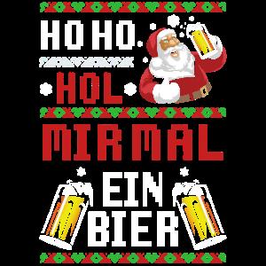 Weihnachten Bier Weihnachtsfeier
