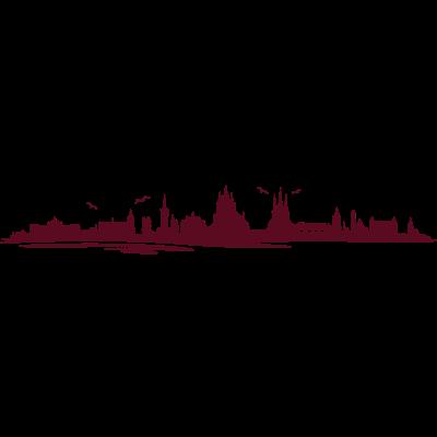 Skyline - Erfurt - Skyline - Erfurt - wahrzeichen,stadt,skyline,silhouette,sehenswürdigkeiten,sehenswürdigkeit,krämerbrücke,kirche,erfurter,erfurt,dom,denkmal,city,anger