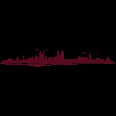 Skyline - Magdeburg - Skyline - Magdeburg - wahrzeichen,stadt,skyline,silhouette,sehenswürdigkeiten,sehenswürdigkeit,oper,magdeburger,magdeburg,elbe,dom,denkmal,city