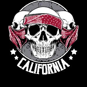 Gangster-Bandana-Geschenk-Entwurfs-Schädel OG Kalifornien