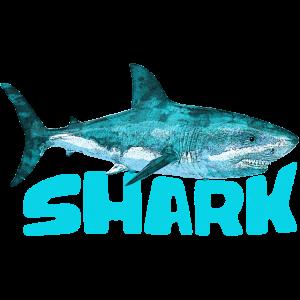 Hai Fisch Angler Grün Monsterfisch Wasserwelt