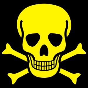 Totenkopf, Chemie- 2farbig