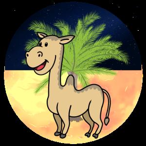 Kamel Dromedar Wildtiere