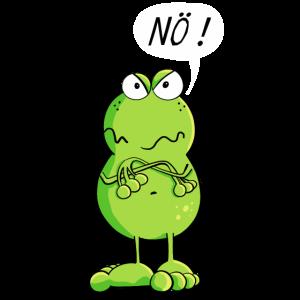 Frosch sagt einfach mal Nö