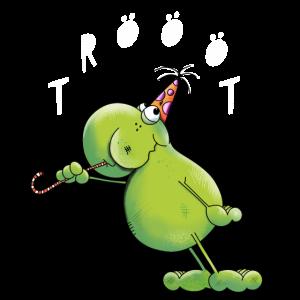 Frosch hat Geburtstag