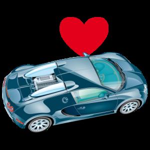 Ich liebe Sportwagen 003 illustration