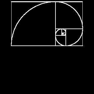 Fibonacci-Tagesgoldener Schnitt Mathe und Wissenschaft