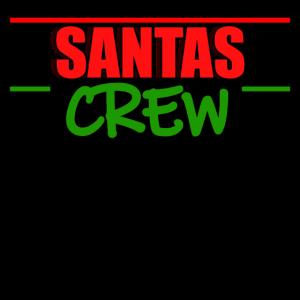 Santas Crew Weihnachten Weihnachtsmarkt