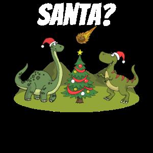 Dinosaurier Weihnachten