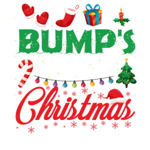 Bump's First Christmas Funny Mommy To Be Christmas