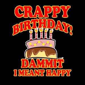 Lustige Geburtstagsidee Ironisch Geschenk