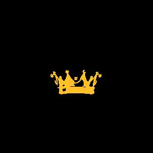 Hirschgeweih mit Krone