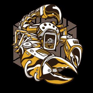 Steampunk Skorpion