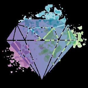 Aquarell Diamant