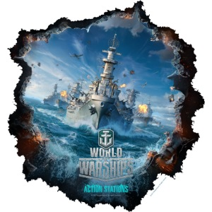 World of Warships Keyart