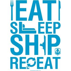 World of Warships Eat, Sleep, Ship, Repeat