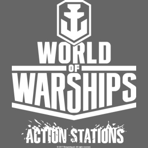 World of Warships Logo white
