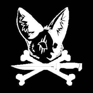 Fuchs mit Messer