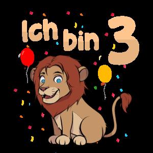 Ich bin Drei 3 Jahre Dritter 3. Geburtstag