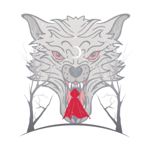 Wolf und Rotkäppchen