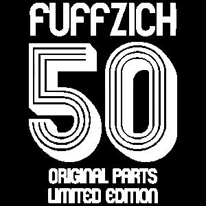 FUFFZICH RUNDER GEBURTSTAG SHIRT GESCHENKIDEE