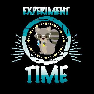 Waschbär Experiment kinder Shirt