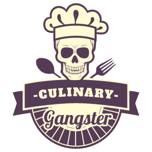 Culinary Gangster Gift Restaurant Cook Chef