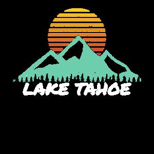 Lake Tahoe Gift California Nevada Mountains Camp