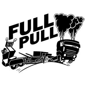 full pull black landscape