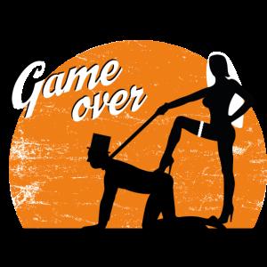 Game over JGA Junggesellenabschied Junggesellin