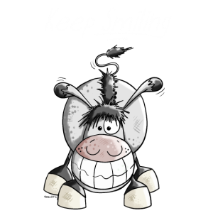 Keep Smiling Esel