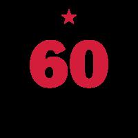 60 - Sechzig - Birthday - runder Geburtstag