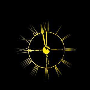 Uhr01/gelb