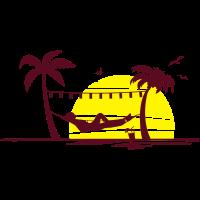 Sommer - Hängematte
