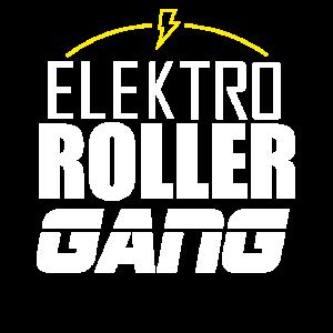 Elektro Roller Gang, E-Roller, E-Mobilität, strom