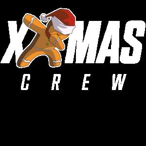 Lebkuchenmann Dab Crew Weihnachten