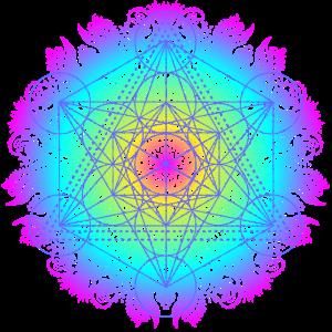 Metatronwürfel, heilige Geometrie des Erzengels