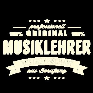 Musiklehrer aus Leidenschaft