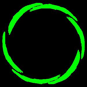 Kreis Symbol neue Variante Grün