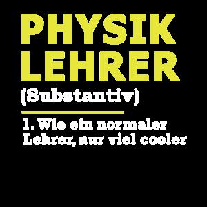 Physiklehrer Physik Lehrer Geschenk