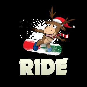 Ride Snowboarding Snowboarder Rentier Snowboarden