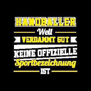 Handballer Handball Sportart Ball Teamsport