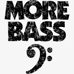 More Bass (Vintage/Schwarz) Bassisten