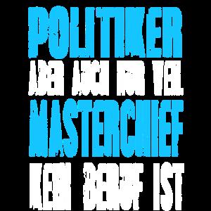 Politiker statt Masterchief