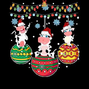 Baby Kuh Weihnachten