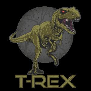 Dinosaurier Tyrannosaurus Rex Urzeit