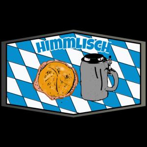Himmlisch bayrisch Bier Leberkäse